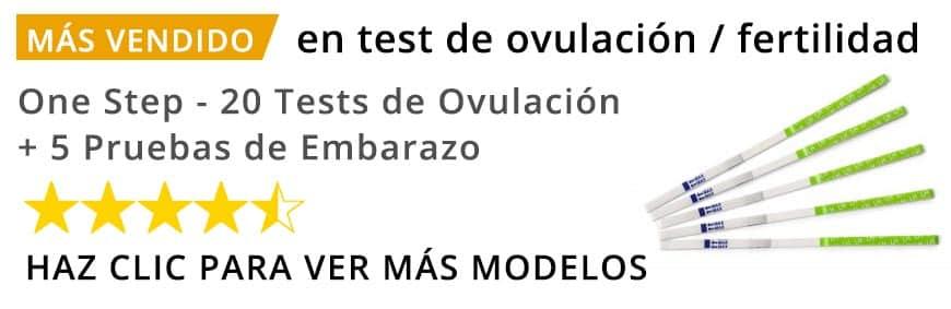 Test de ovulación y embarazo más vendido en Amazon