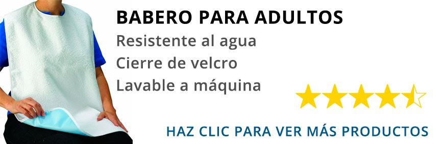 ver babero para adultos en Amazon