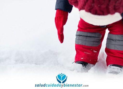 Cómo abrigar correctamente a los niños en invierno