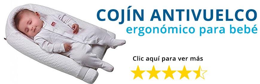 Cojín antivuelco ergonómico Cocoonababy