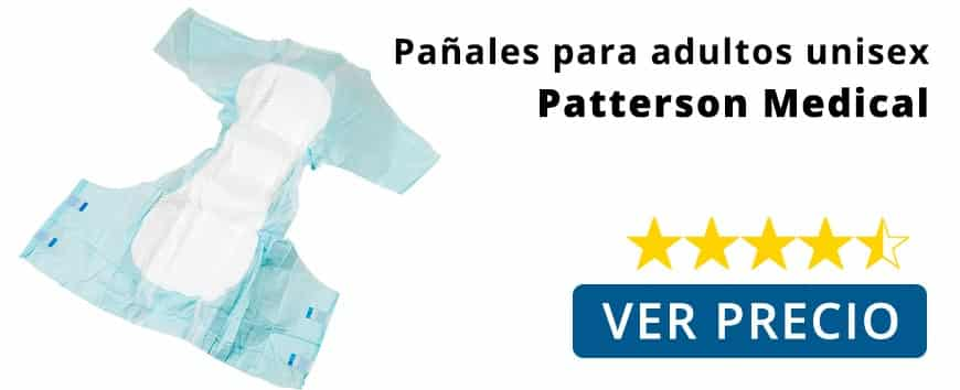 Pañales desechables para adultos unisex Patterson Medical