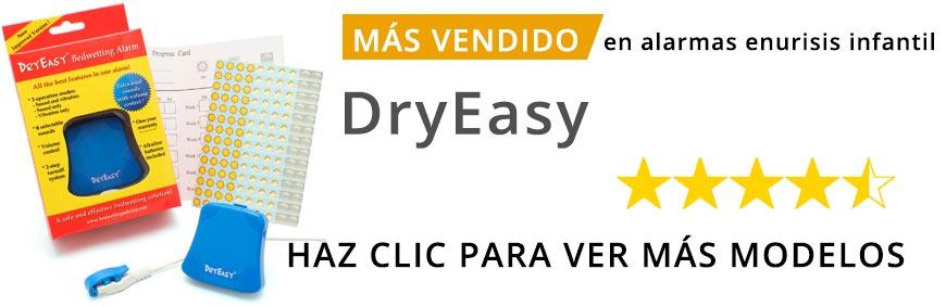 Nueva DryEasy, alarma para evitar mojar la cama con control de volumen