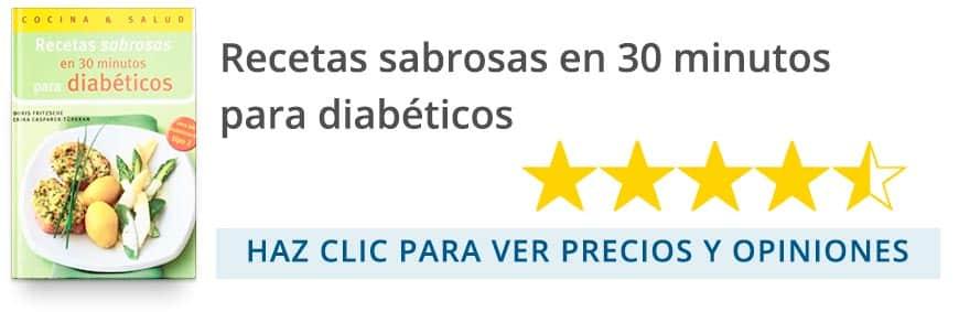 Recetas sabrosas en 30 minutos para diabéticos