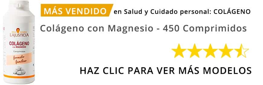 comprar La Justicia - Colágeno con Magnesio - 450 Comprimidos