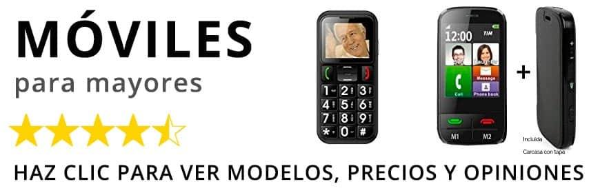 Teléfonos móviles para Mayores en amazon