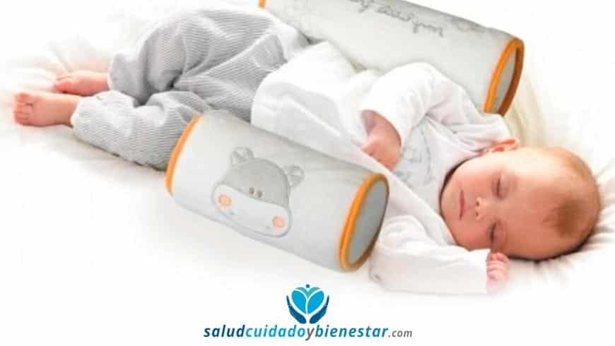 Beneficios de comprar un cojin antivuelco para el descanso del bebe
