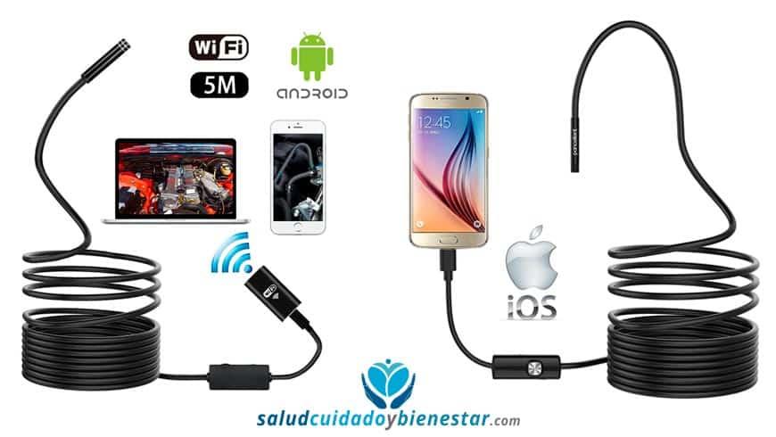 Comprar endoscopio, boroscopio USB - las mejores cámaras USB endoscópicas