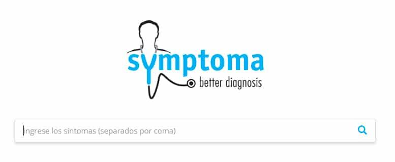 Symptoma comprobador de síntomas, buscador de enfermedades.