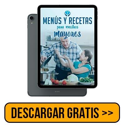 Ebook Menús y Recetas para Mayores