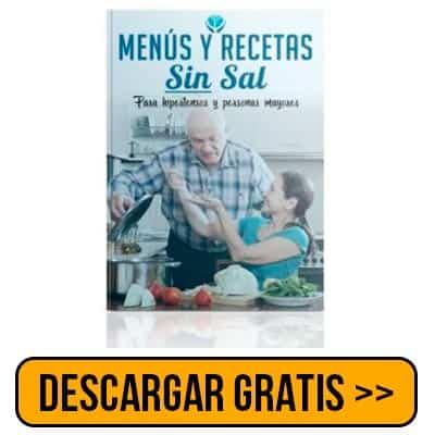 Menús y Recetas SIN SAL