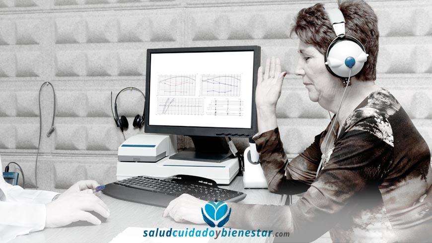 Sala de evaluación audiométrica en ambientes reales