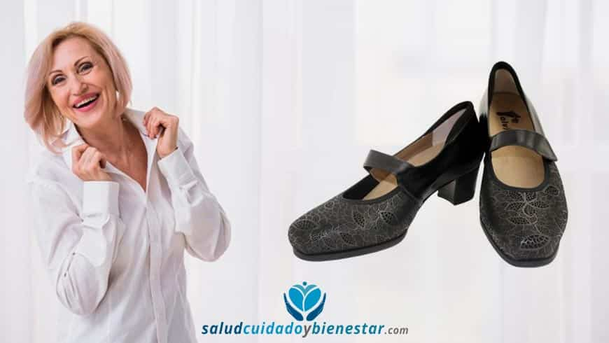 Zapatos ortopédicos para personas con problemas en los pies