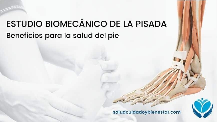 Estudio biomecánico de la pisada - Beneficios para la salud del pie